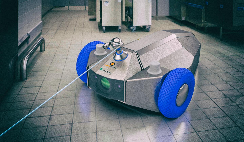 Автономный робот-уборщик на ходу совершенствует свои навыки