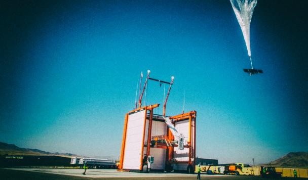 Первый интернет-аэростат Alphabet начал работу в Африке