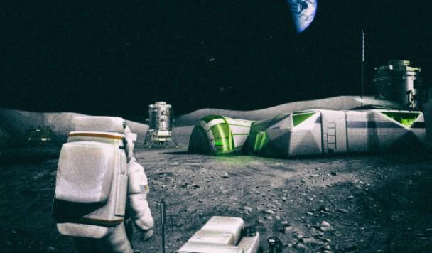 """NASA проспонсирует проект по """"умной"""" 3D-печати лунных баз"""