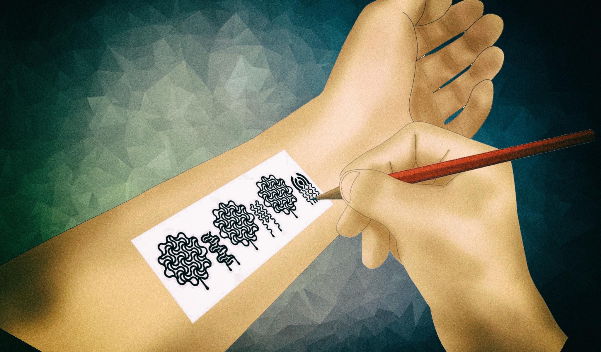 """Эта технология позволяет """"рисовать"""" электронику при помощи карандаша"""