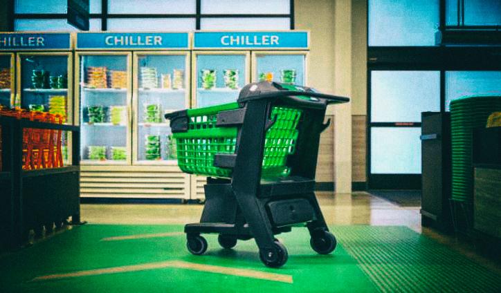 Amazon разработал тележку для супермаркета, которая знает, что вы покупаете