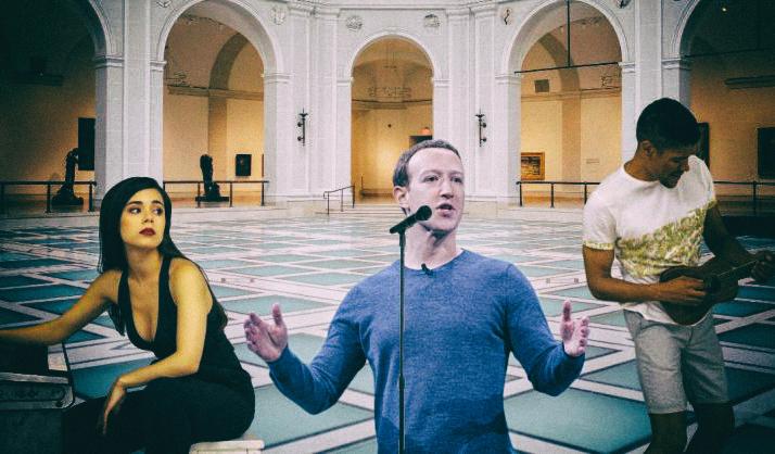 Facebook хочет увести музыкантов с YouTube