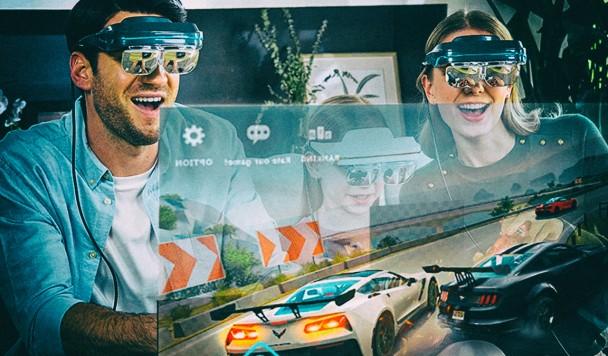 Представлены компактные очки-монитор с разрешением 4K