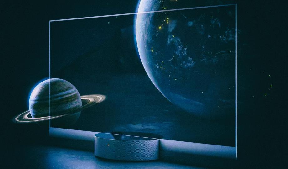 Xiaomi разработала телевизор с прозрачным дисплеем