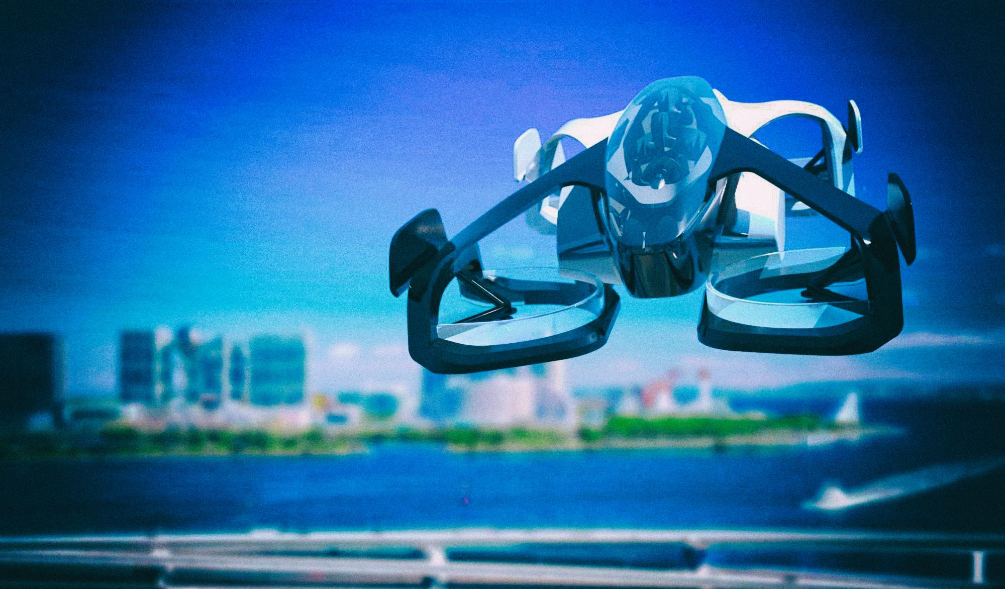 Япония начинает внедрение летающих автомобилей