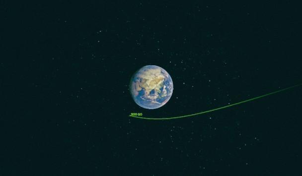 """Астероид """"оцарапал"""" атмосферу Земли"""