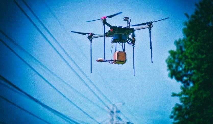 Новая сенсорная система помогает дронам избегать линий электропередач