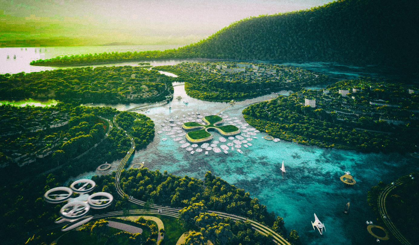Малайзия создаст автономный город на искусственных островах