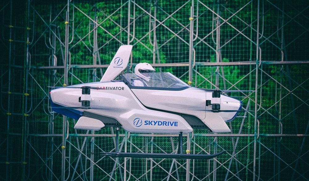 Летающий автомобиль от Toyota провел летные испытания