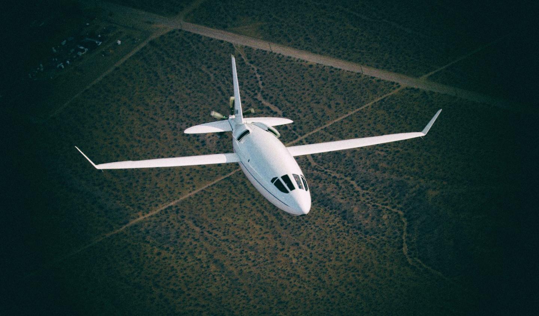 """Этот компактный """"самолет-пуля"""" в разы снизит стоимость частных перелетов"""