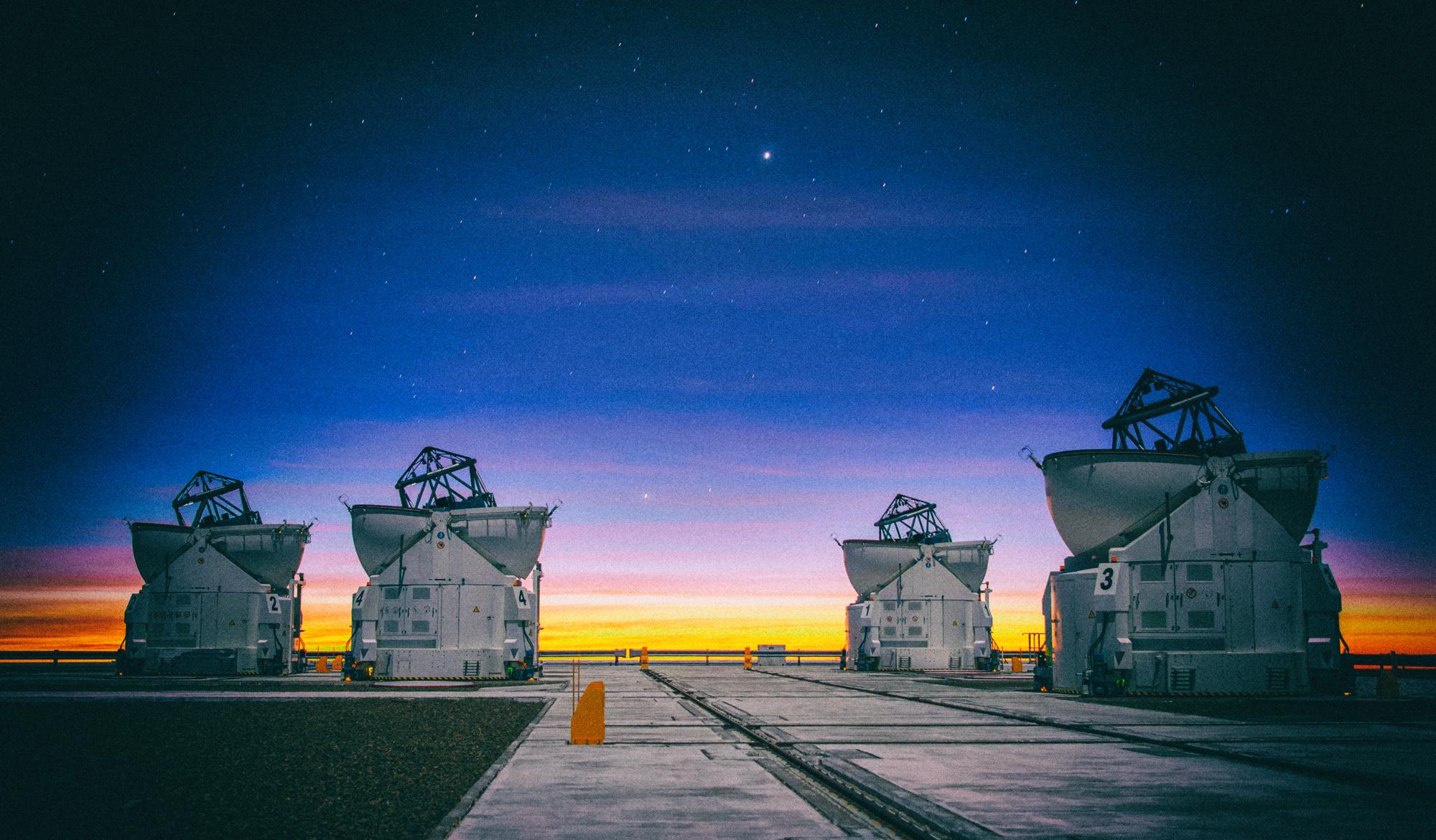 Изменения климата мешают астрономам