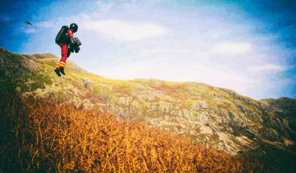 Парамедики будут использовать реактивные ранцы для помощи раненым в горах
