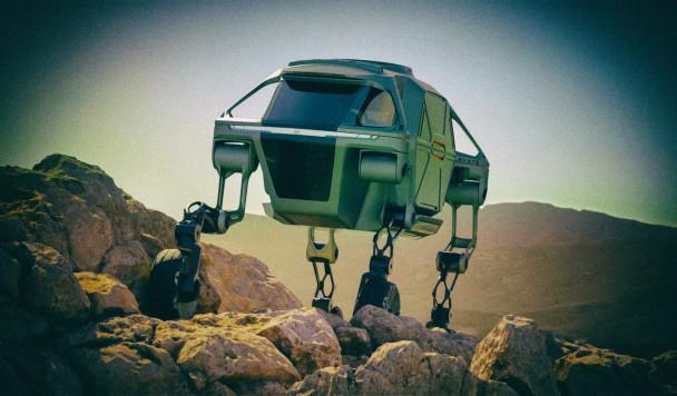 Hyundai серьезно намерен строить шагающие автомобили-роботы