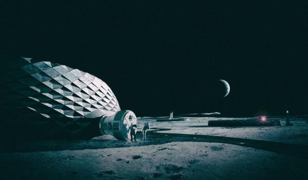 NASA заплатит $14 млн за технологию 3D-печатных лунных жилищ