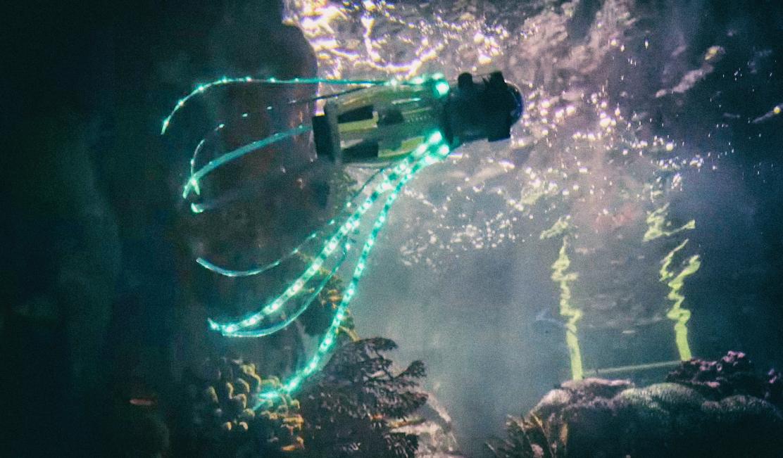 Разработан удивительный робот, скопированный с живого кальмара