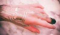 Электронные компоненты можно печатать прямо на человеке