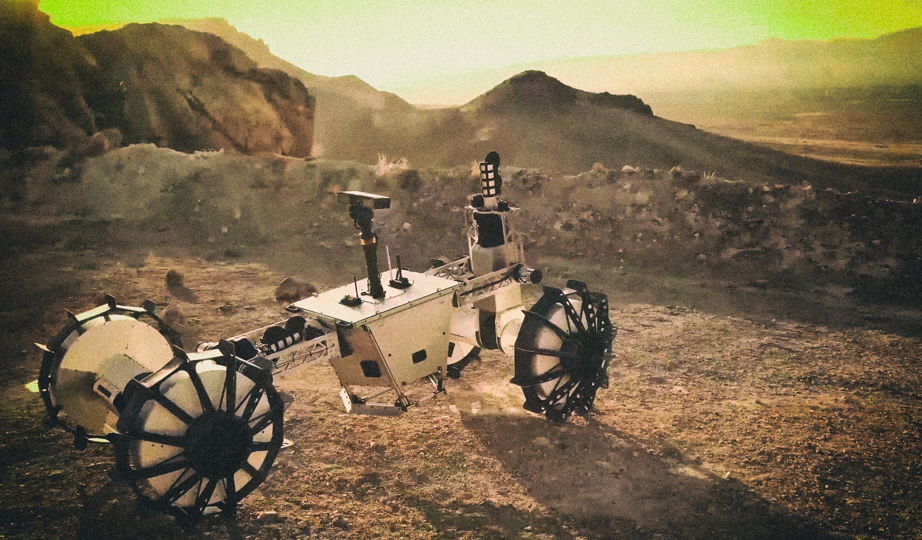 NASA представило ровер-трансформер для покорения инопланетных вершин