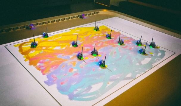 Роевой искусственный интеллект научился рисовать картины