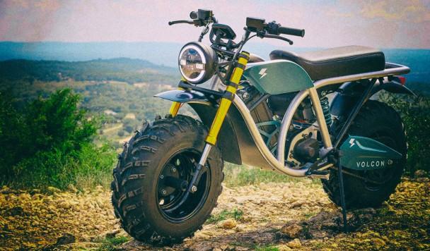 Представлен мощный и тяговитый электромотоцикл-внедорожник