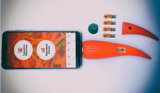 Этот аксессуар для смартфона умеет определять остроту перца