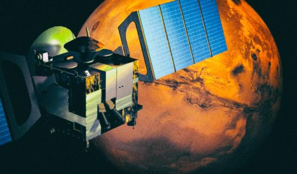 Илон Маск собирается подключить Марс к интернету