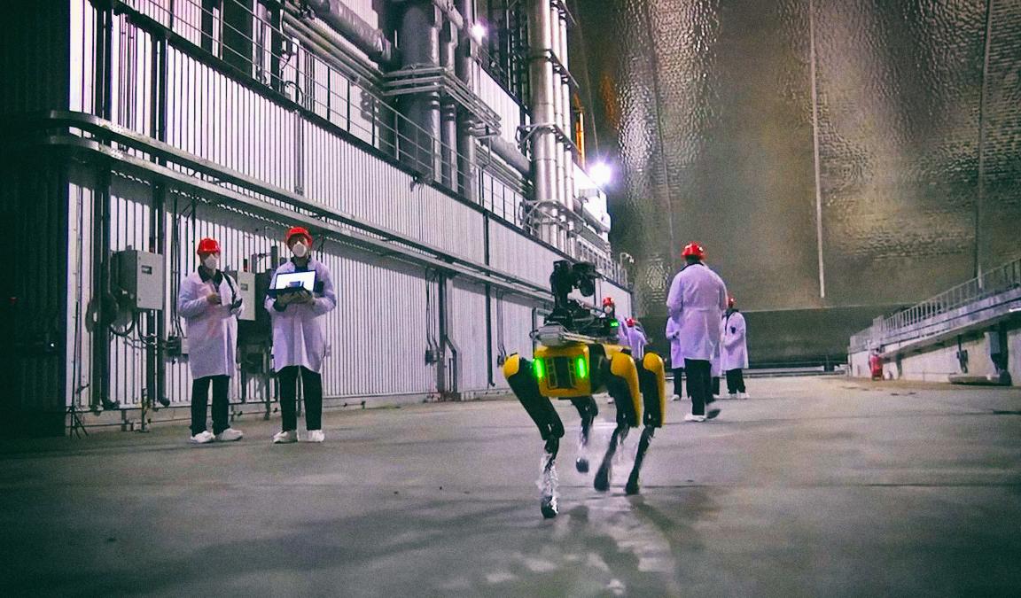 Робопес Spot прошел испытания в Чернобыле