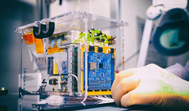 В космос отправлен первый спутник с искусственным интеллектом