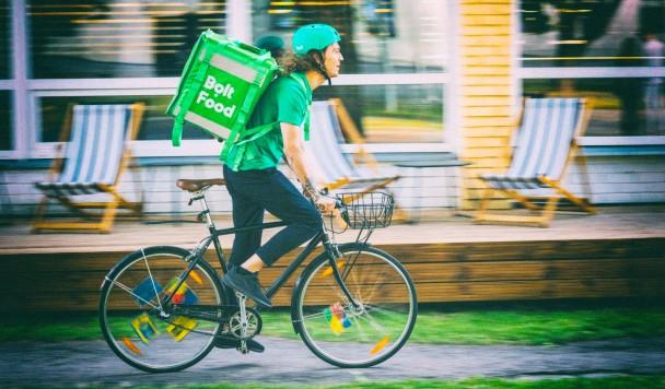 Bolt запускает сервис доставки еды в Украине