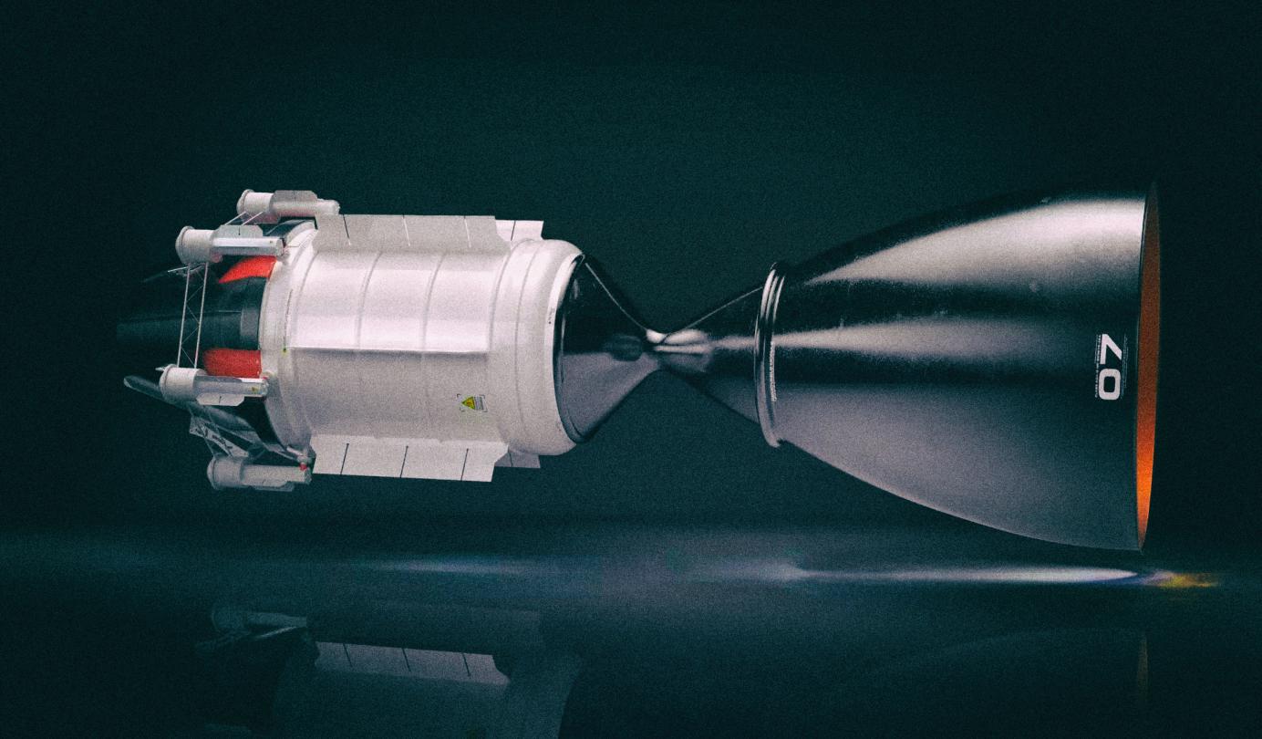 Этот ядерный двигатель довезет вас до Марса всего за три месяца