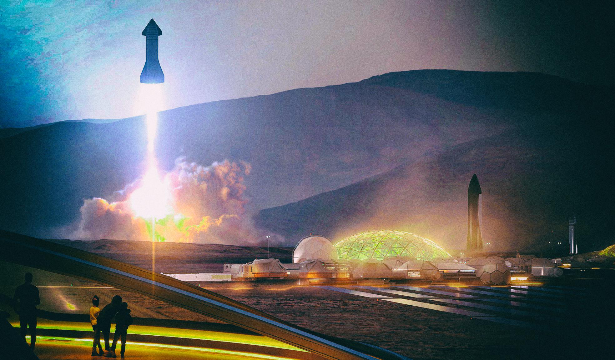 Илон Маск заговорил о политической независимости Марса