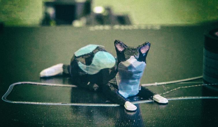 Новый метод позволяет дешевым 3D-принтерам печатать несколькими материалами сразу