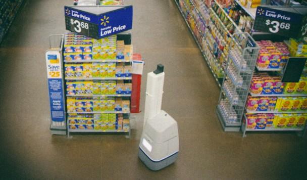 Walmart отказывается от использования роботов в своих магазинах