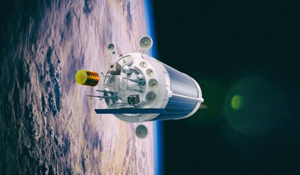Космический мусор можно превратить в орбитальные станции