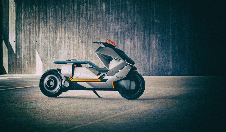 BMW приступает к производству футуристического электроскутера