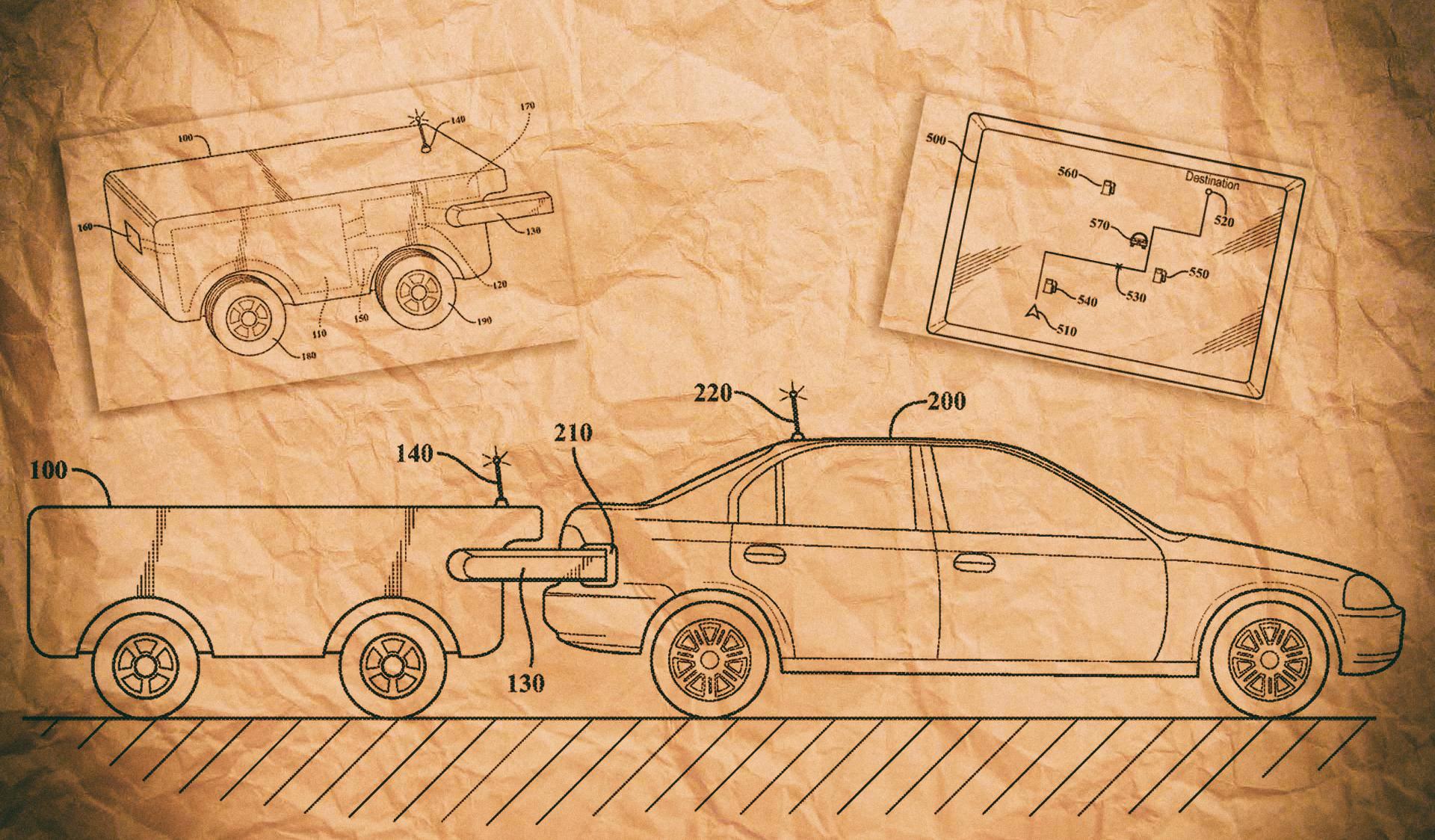 Toyota запатентовала беспилотный дрон для зарядки автомобилей на ходу