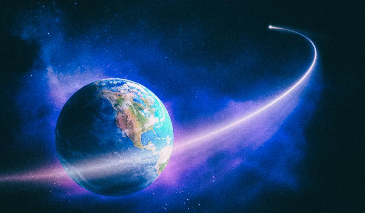 Астероид пролетел на рекордно близком расстоянии от Земли