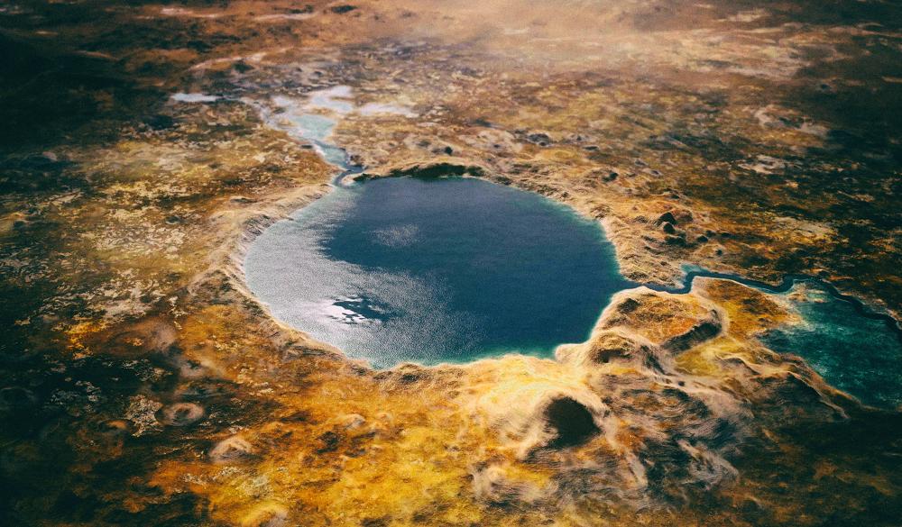 Найден способ получения кислорода из марсианской соленой воды