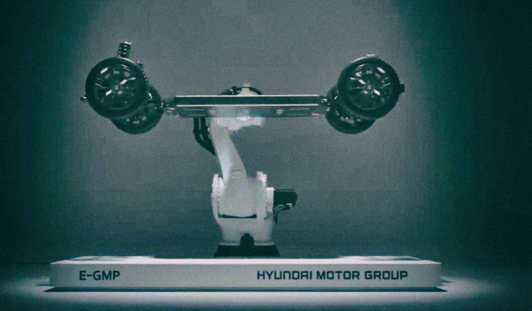 Hyundai представила платформу для модульных электромобилей
