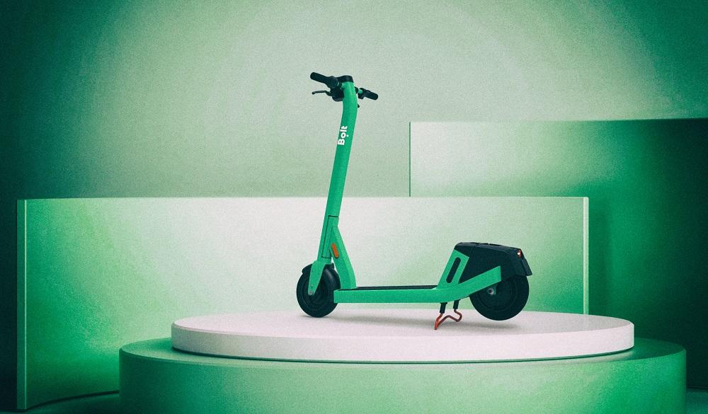 Компания Bolt представила электросамокат с улучшенными функциями безопасности