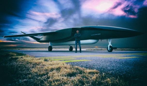 Самый большой в мире дрон сможет забрасывать спутники в космос