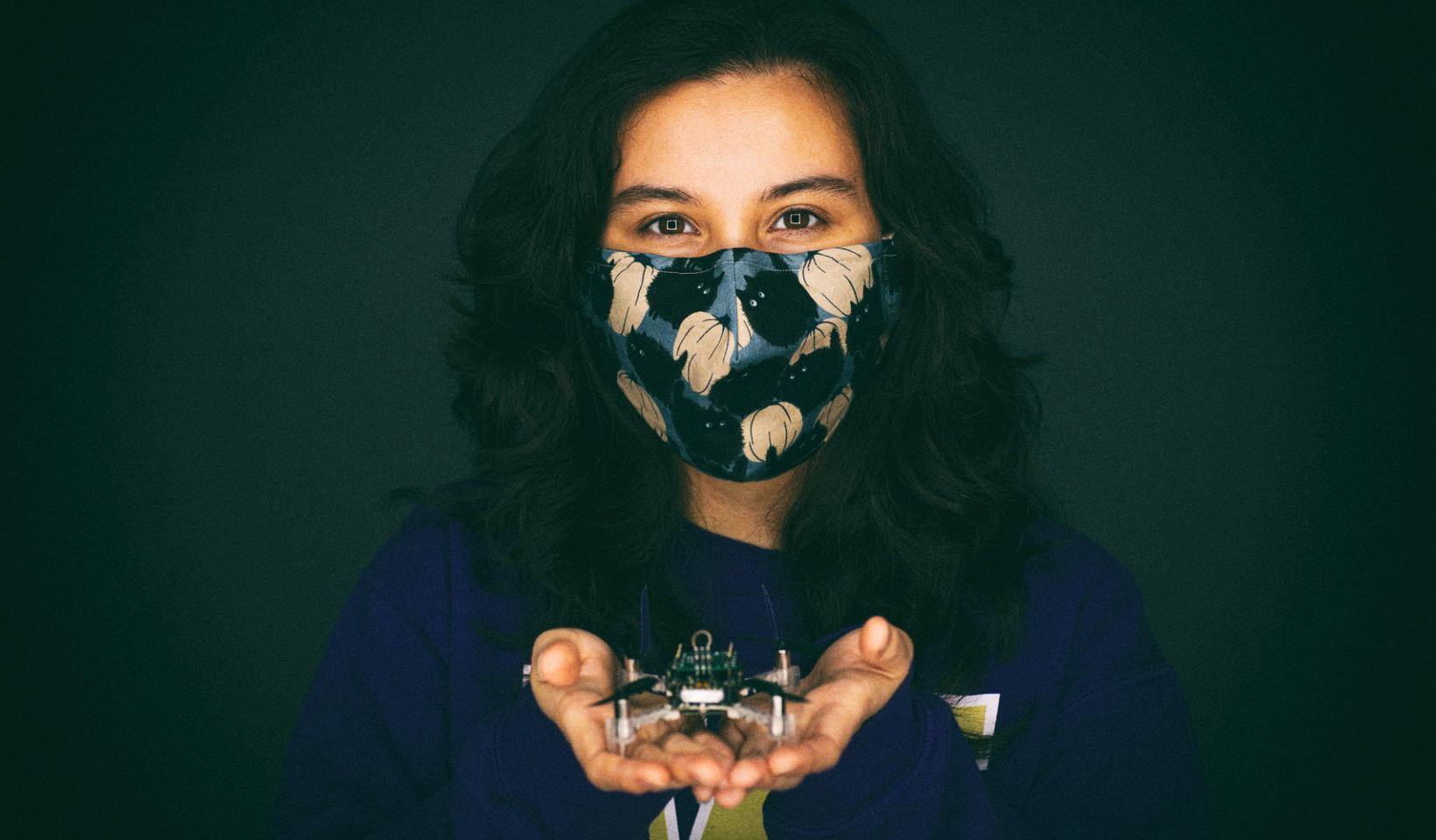 Создан дрон, который умеет чувствовать запахи