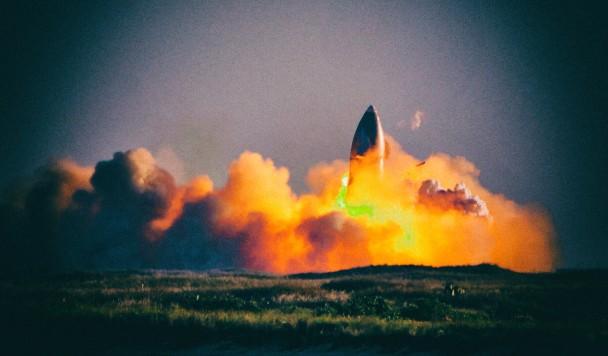 Илон Маск рассказал, почему погиб Starship SN8