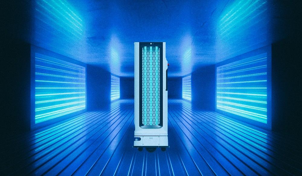 LG создает автономного ультрафиолетового робота для дезинфекции