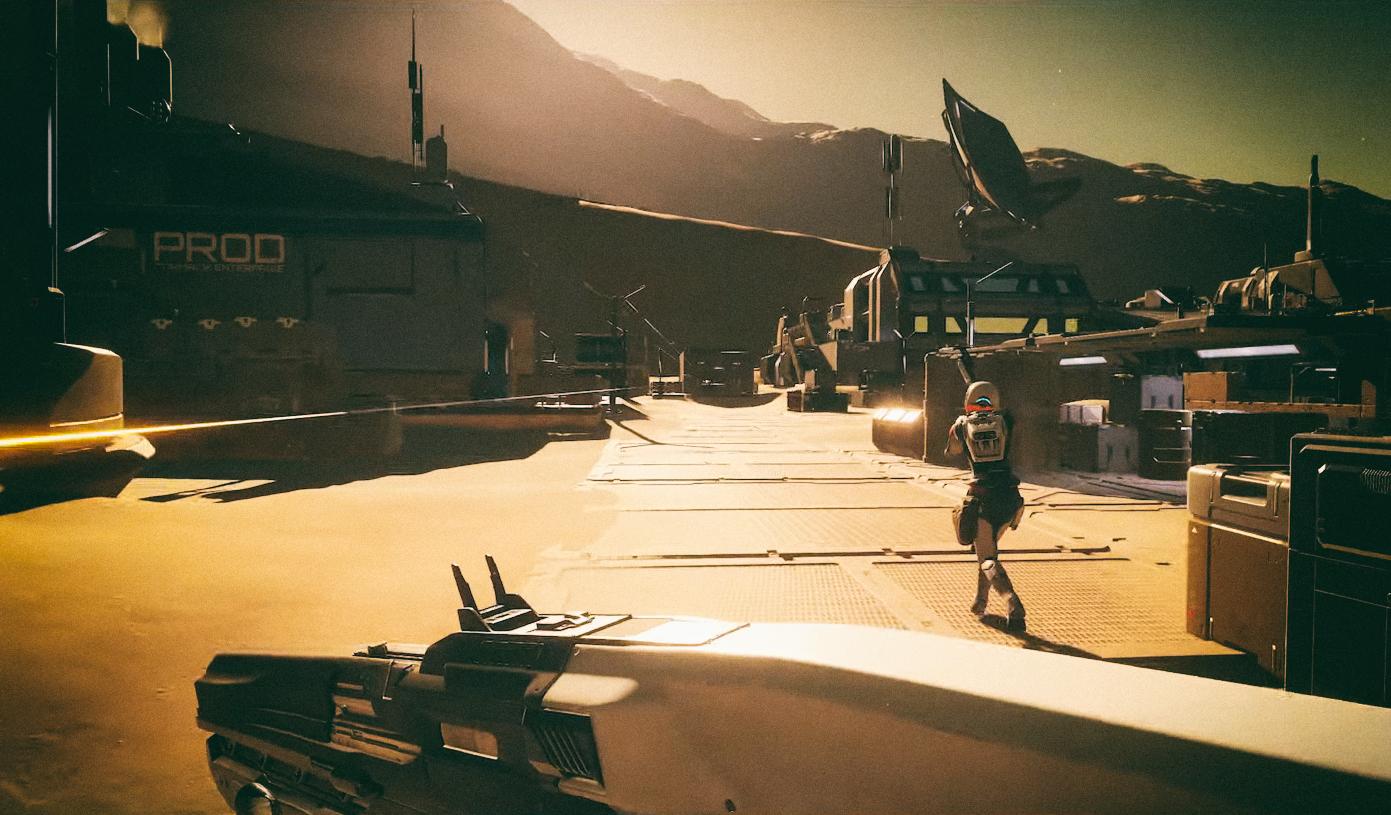 Дополнение Odyssey превратит Elite Dangerous в качественный шутер