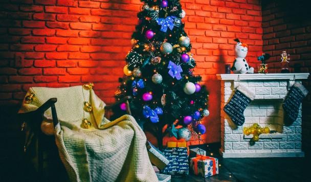 Новогодняя фотозона для кафе: подборка идей