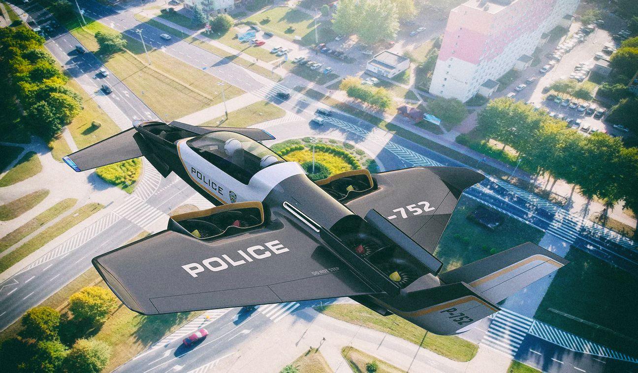 Manta готовится к летным испытаниям необычного электрического самолета