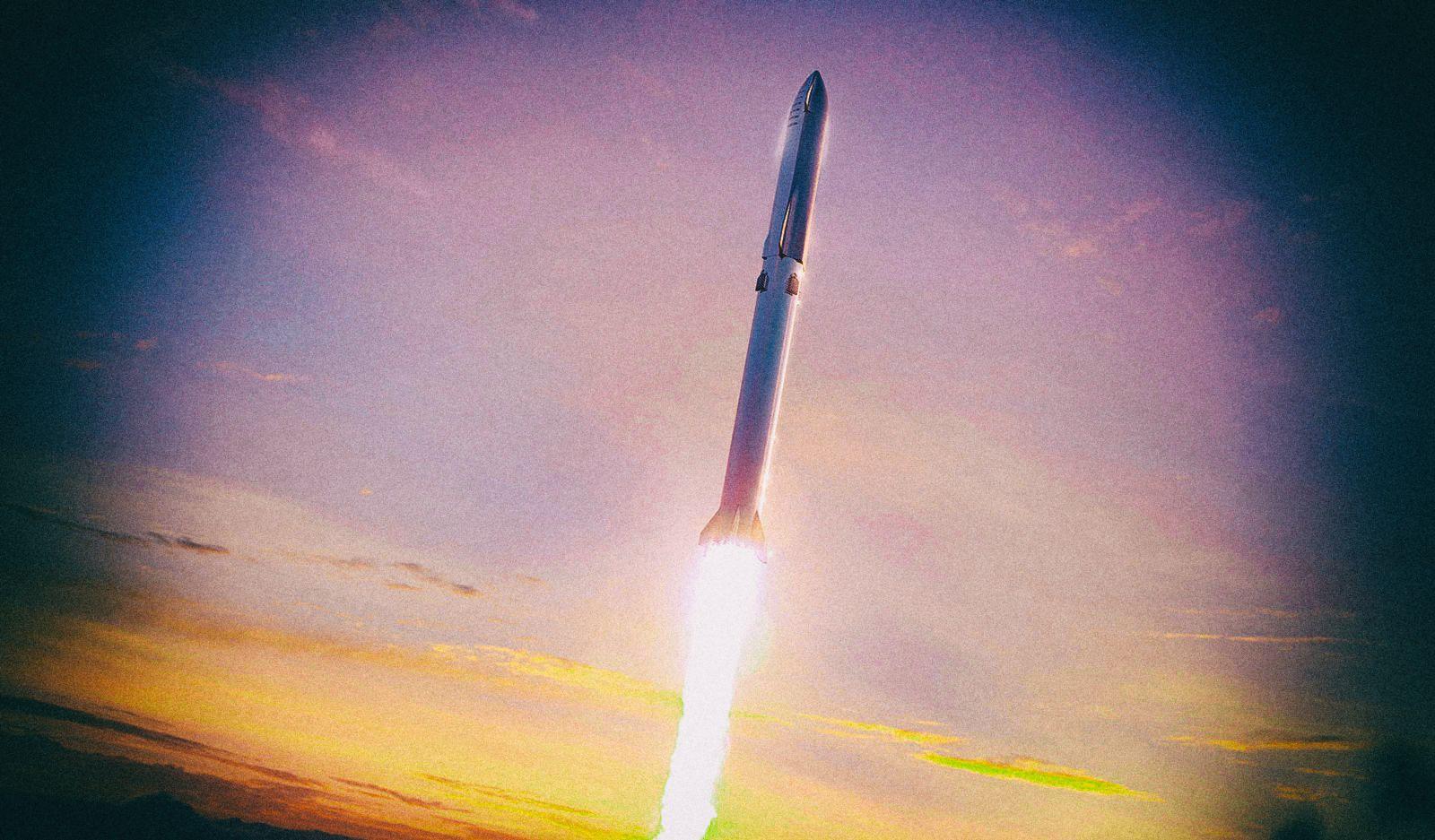 SpaceX попробует поймать гигантскую ракету при помощи клешни на башне