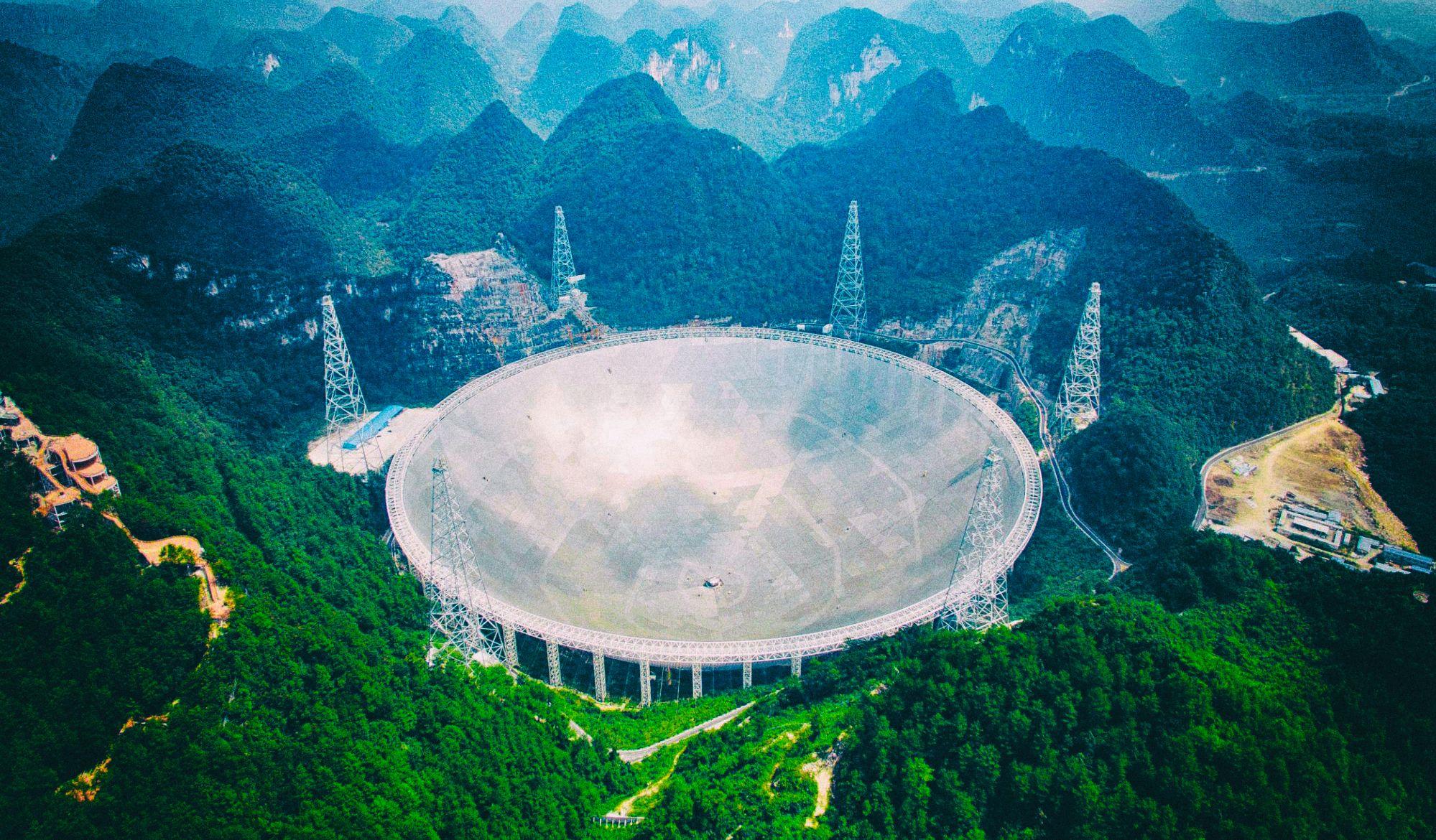 Гигантский китайский телескоп в апреле откроется для ученых всего мира