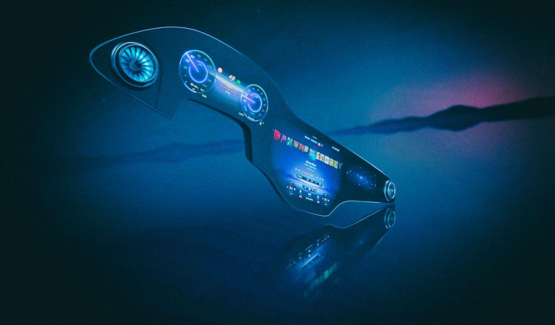 Создана автомобильная приборная панель в виде гигантского дисплея