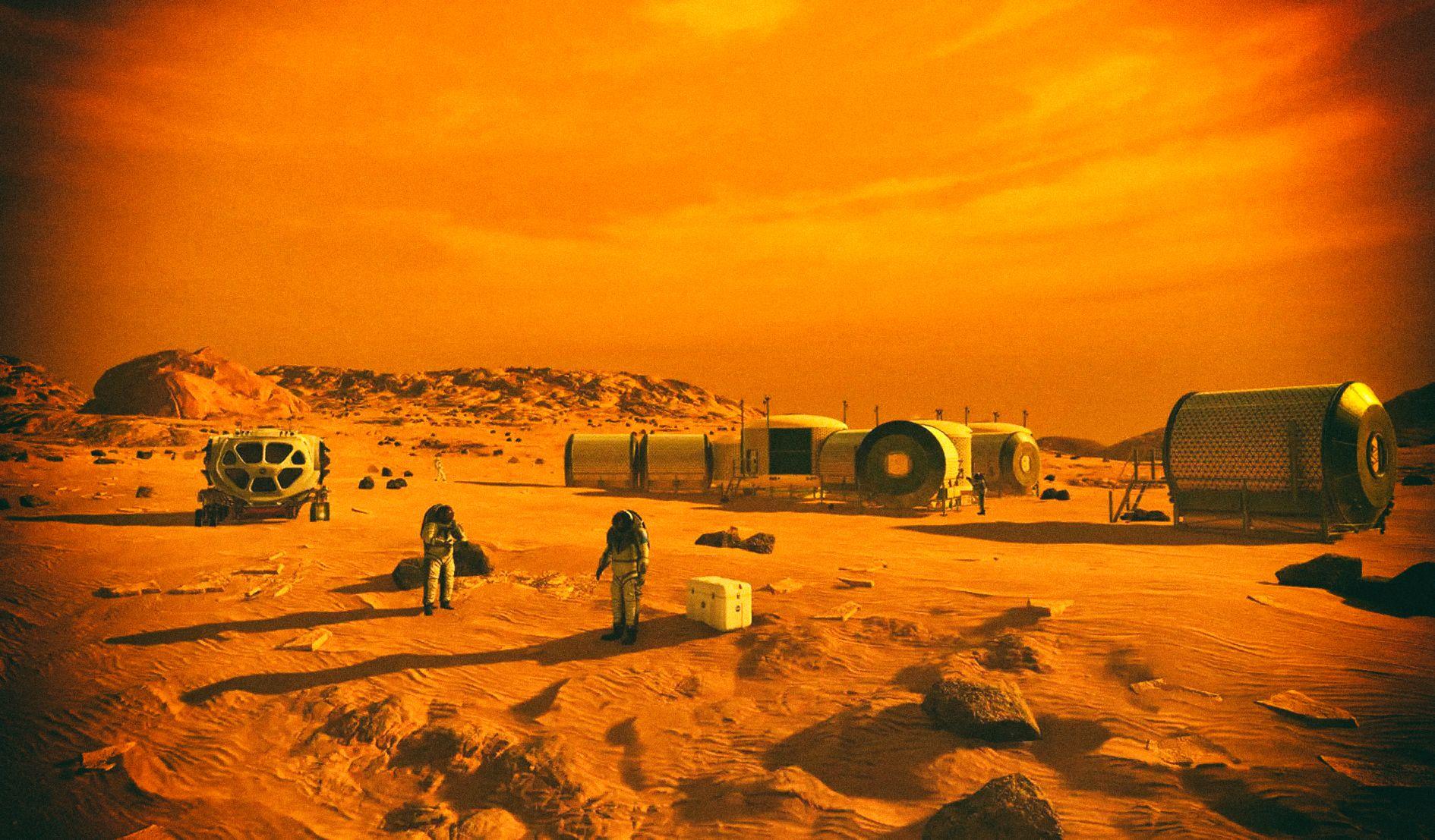 Атмосферу Марса можно использовать для заправки кораблей